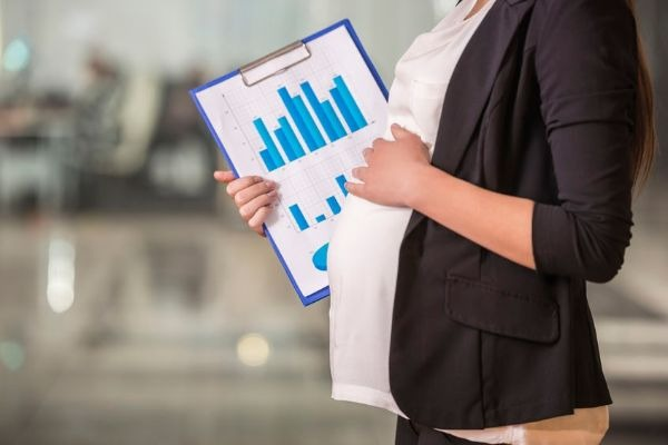 Newly hired CFO equals pregnancy progress
