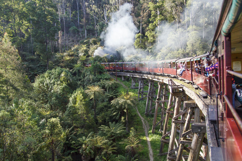 First female train driver for scenic track