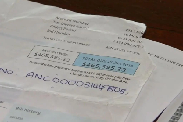 WA mum receives Telstra bill for almost $500K
