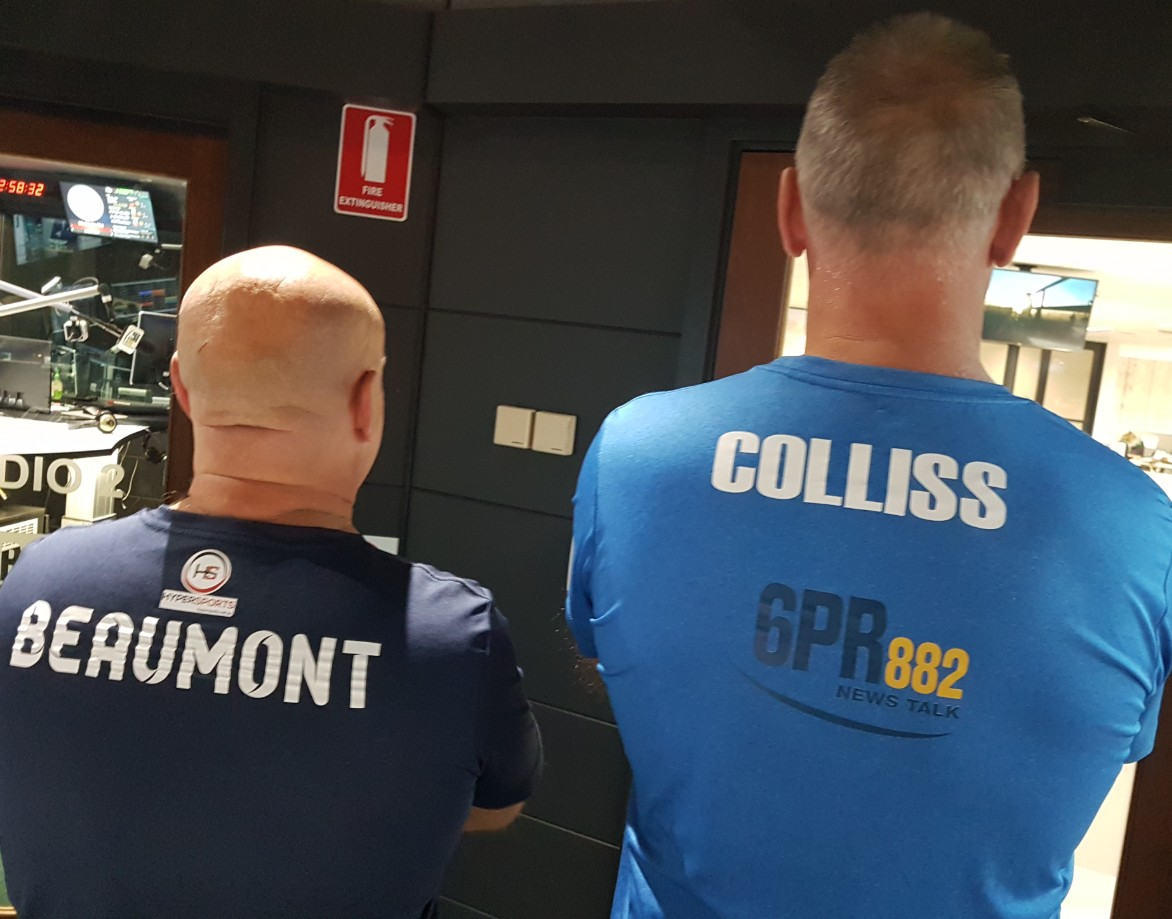 The final Mick Colliss and Simon Beaumont Afternoons hour!