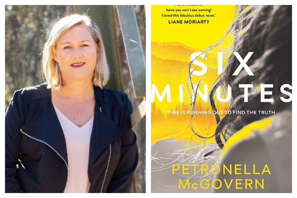 Author Petronella McGovern on her new book Six Minutes