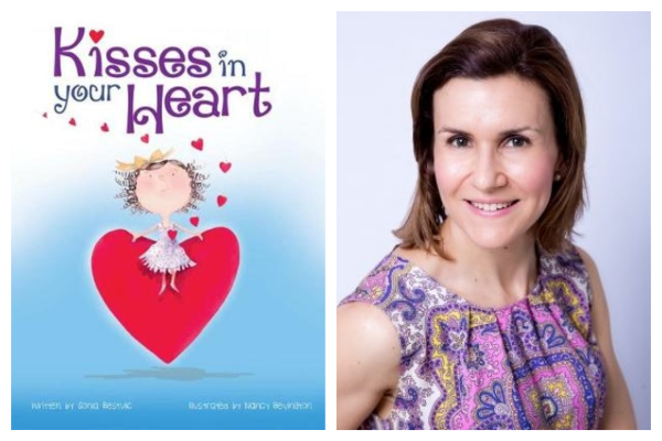 Author Sonia Bestulic on her new book Kisses In Your Heart