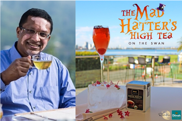 Ethically perfect to a tea – Dilmah director Dilhan Fernando on Perth Tonight