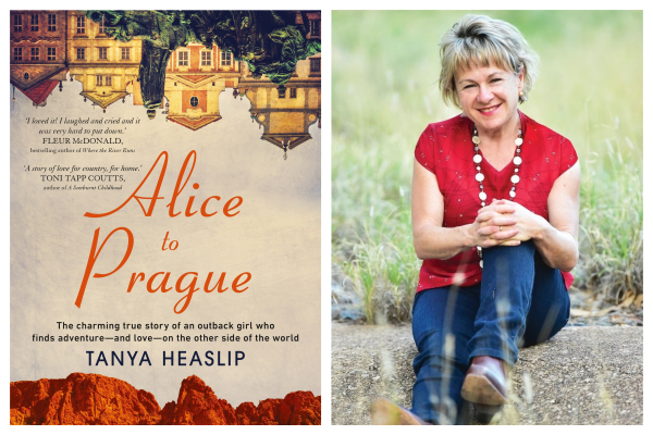 Author Tanya Heaslip on her new book Alice To Prague
