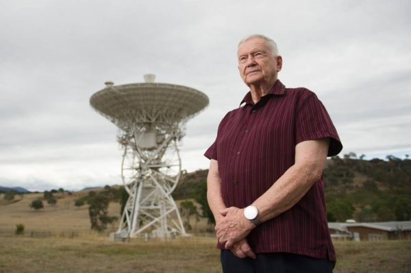 Aussie tracker who helped beam moon landing to the world