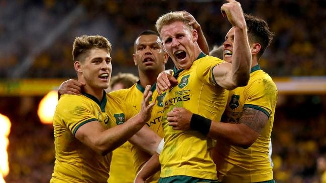 Wallabies out shine All Blacks in front of record crowd