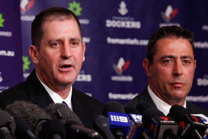 Fremantle Dockers part ways with Lyon and Rosich