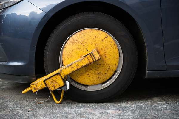 Wheel clamping to be banned?