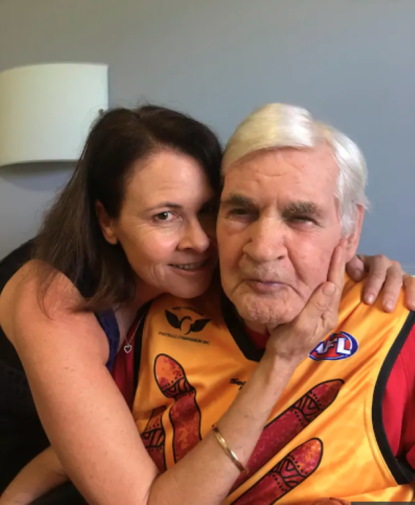 Kim Farmer pays tribute to her Father
