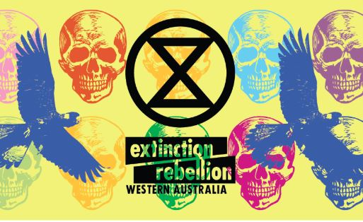 Article image for Extinction Rebellion on their way to Perth