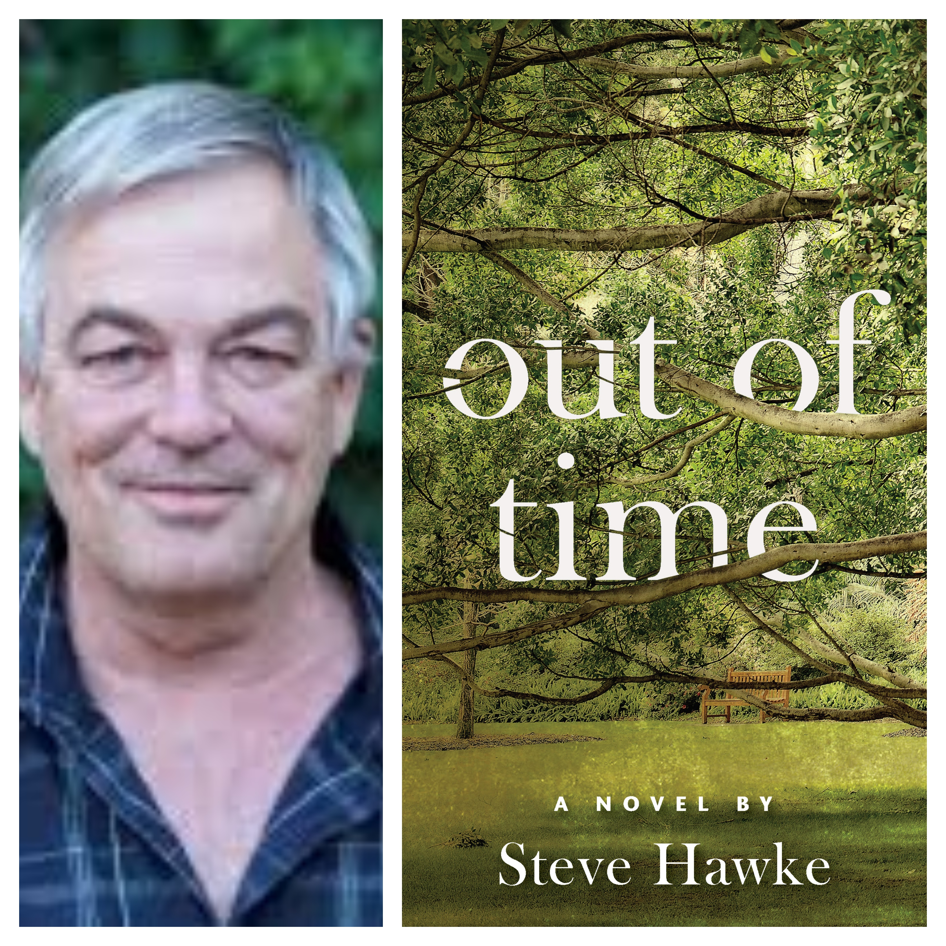 Steve Hawke on his new book: Out Of Time.