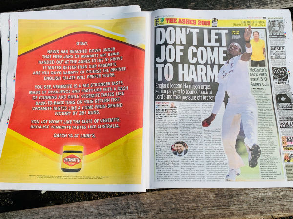 Article image for Vegemite up for the fight