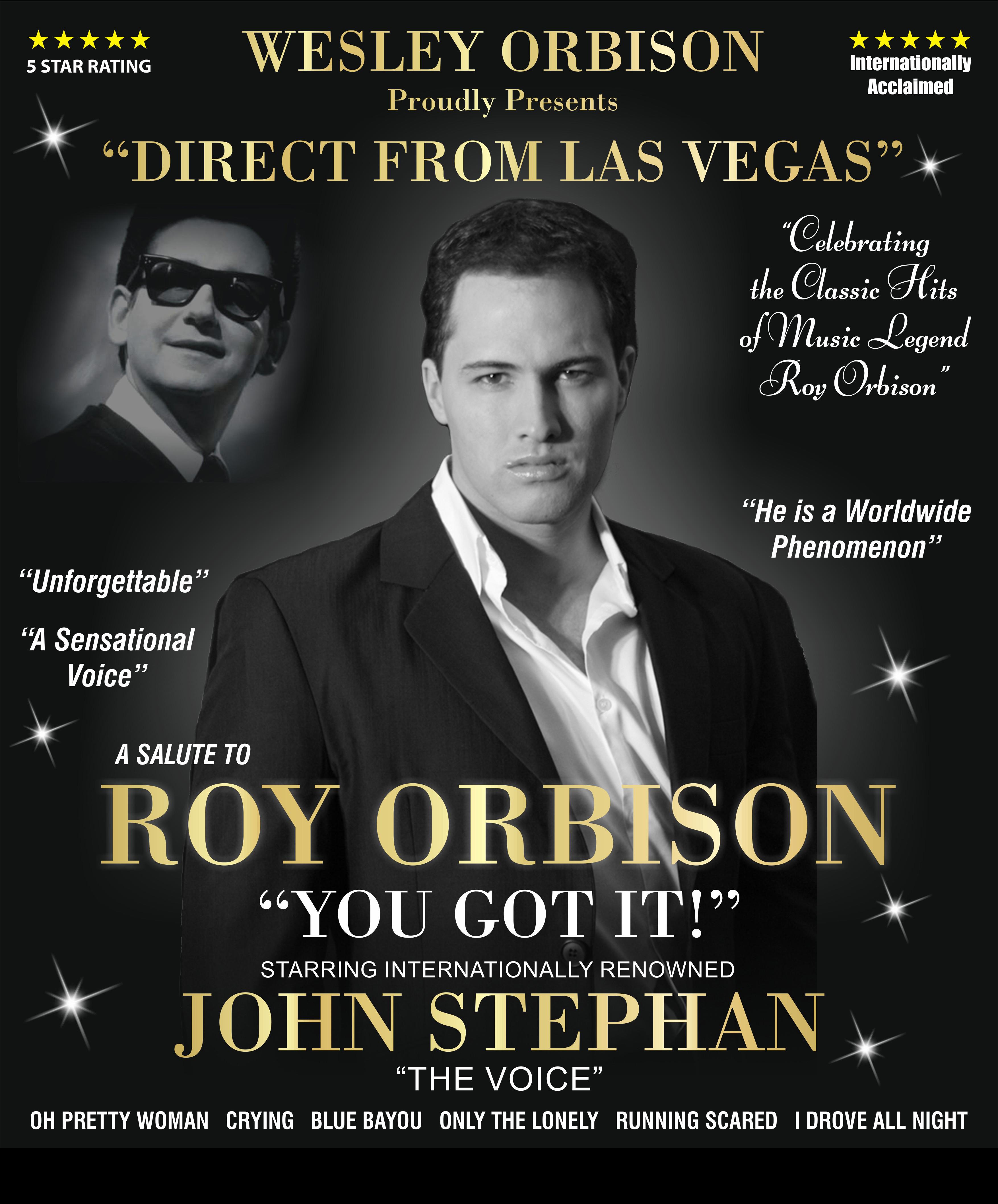 Salute to Roy Orbison – John Stephan