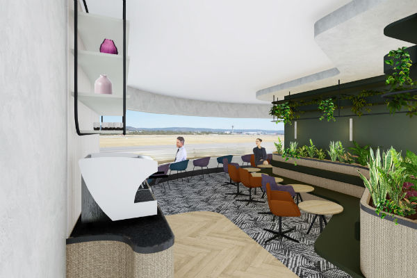 New Lounge For Perth Airport