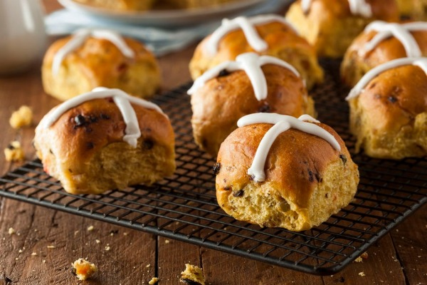 Are hot cross buns just for Easter?