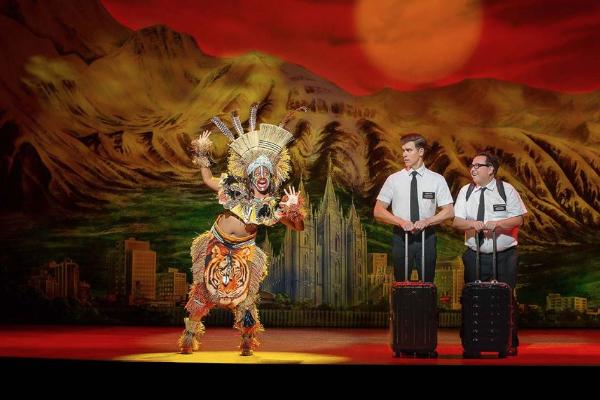 The Book of Mormon celebrates 1000 Aussie performances