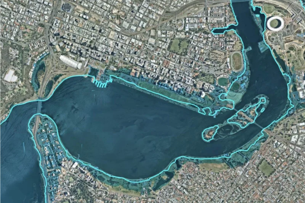 Parts of Perth predicted to be underwater in less than 100 years