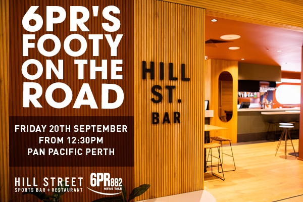 6PR's Footy On The Road – Pan Pacific Perth