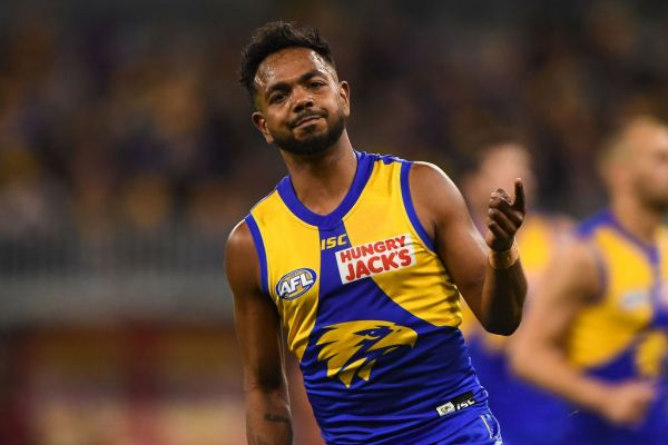 Article image for Willie Rioli set to recommence training today