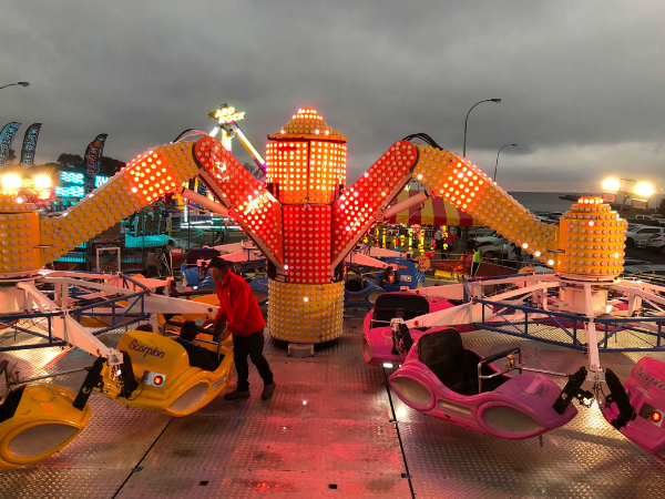 """The Royal Show ride that feels like """"re-entry in a space shuttle"""""""