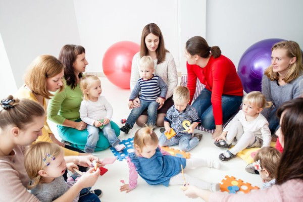 Kids who attend playgroup do better in life