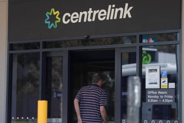 Government Services Minister says go online & don't turn up to Centrelink…