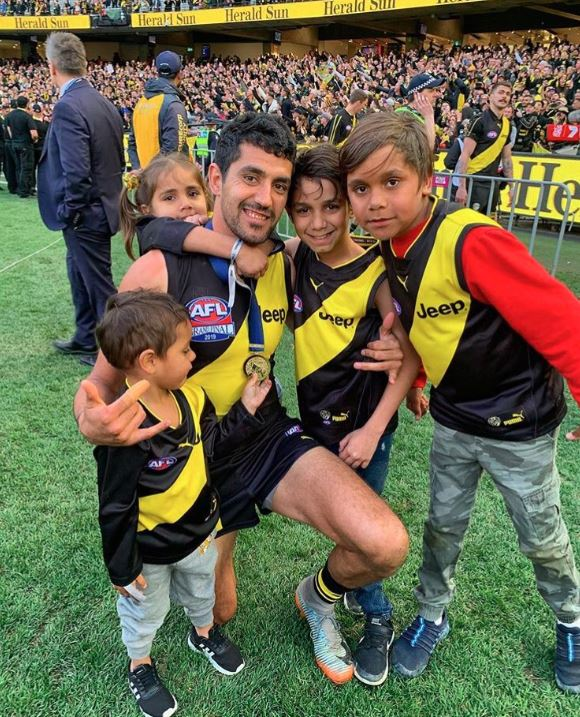 Article image for Marlion Magic as Richmond Win Premiership