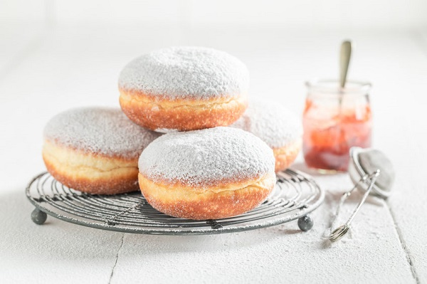 Article image for Will the real jam doughnut please stand up