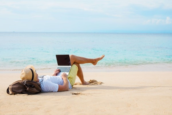 Workwise: Can working on the beach work for you?