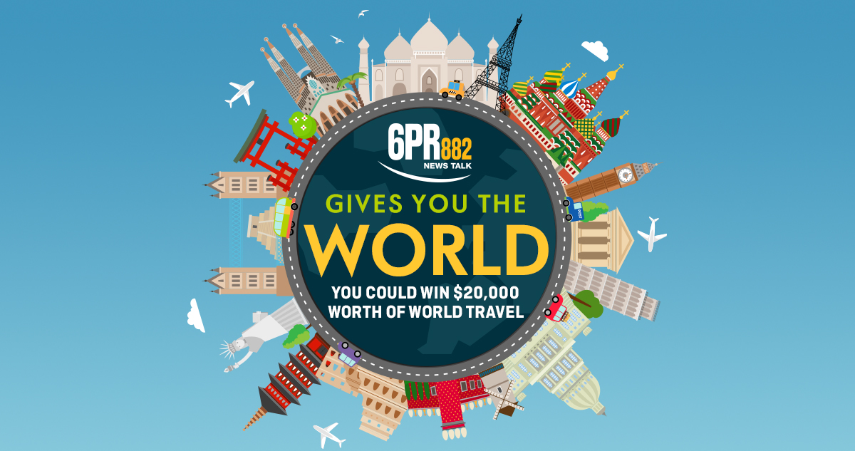 6PR Gives You The World