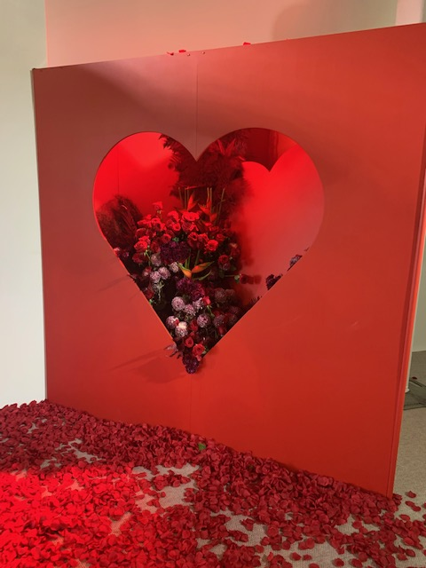 How does Perth's leading florist prepare for Valentine's Day