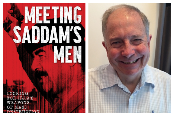 Author Ashton Robinson on his new book, Meeting Saddam's Men