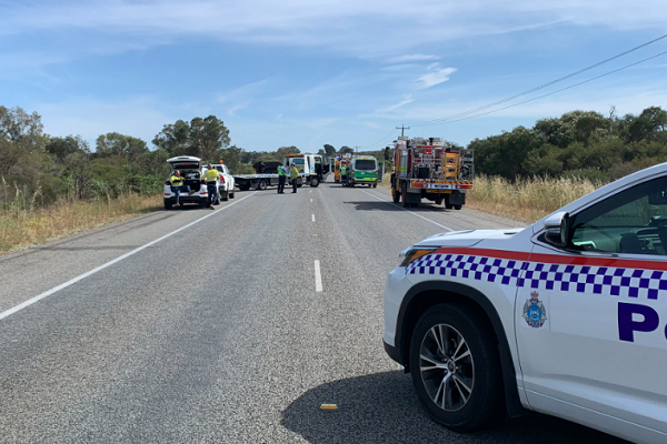 Great Northern Hwy closed due to fatal crash