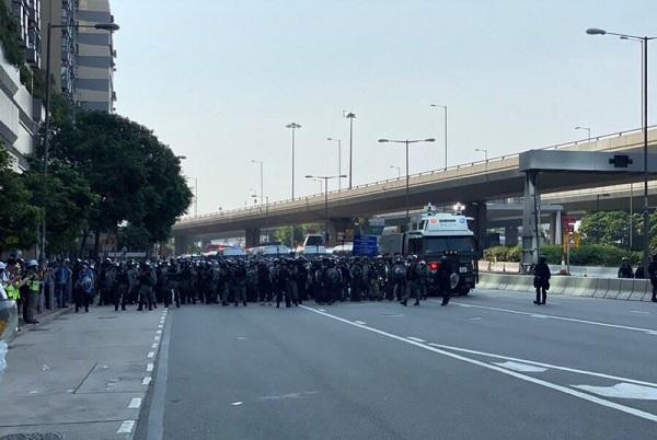 Hong Kong protests intensify