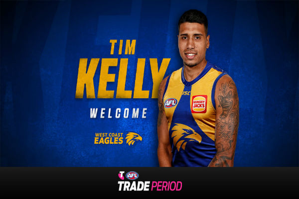 Tim Kelly becomes an Eagle