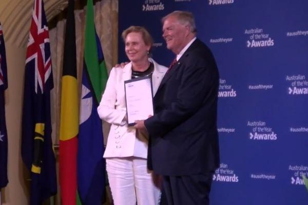Annie Fogarty AM named WA Australian of the Year