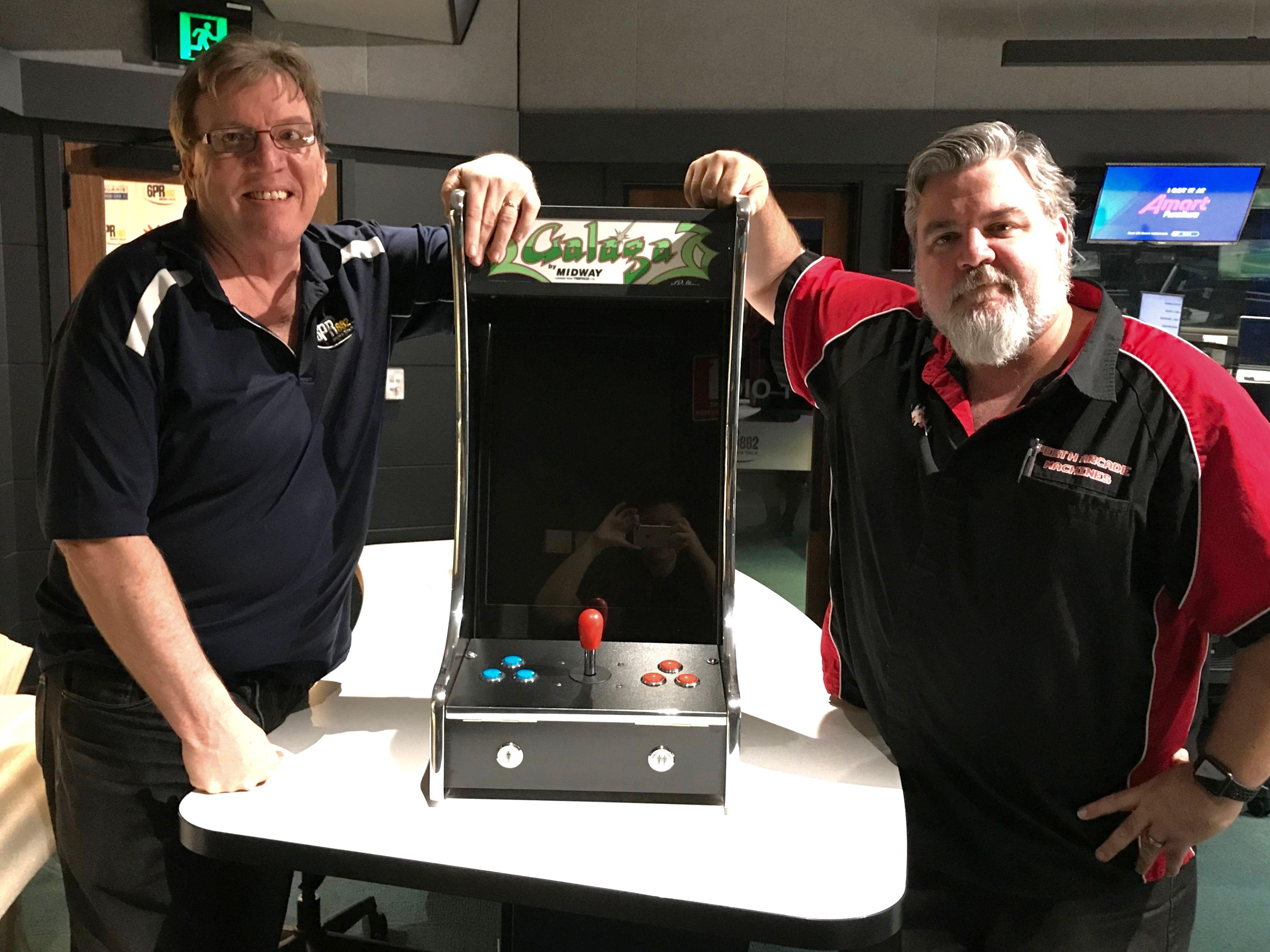 Talking retro with Perth Arcade Machines