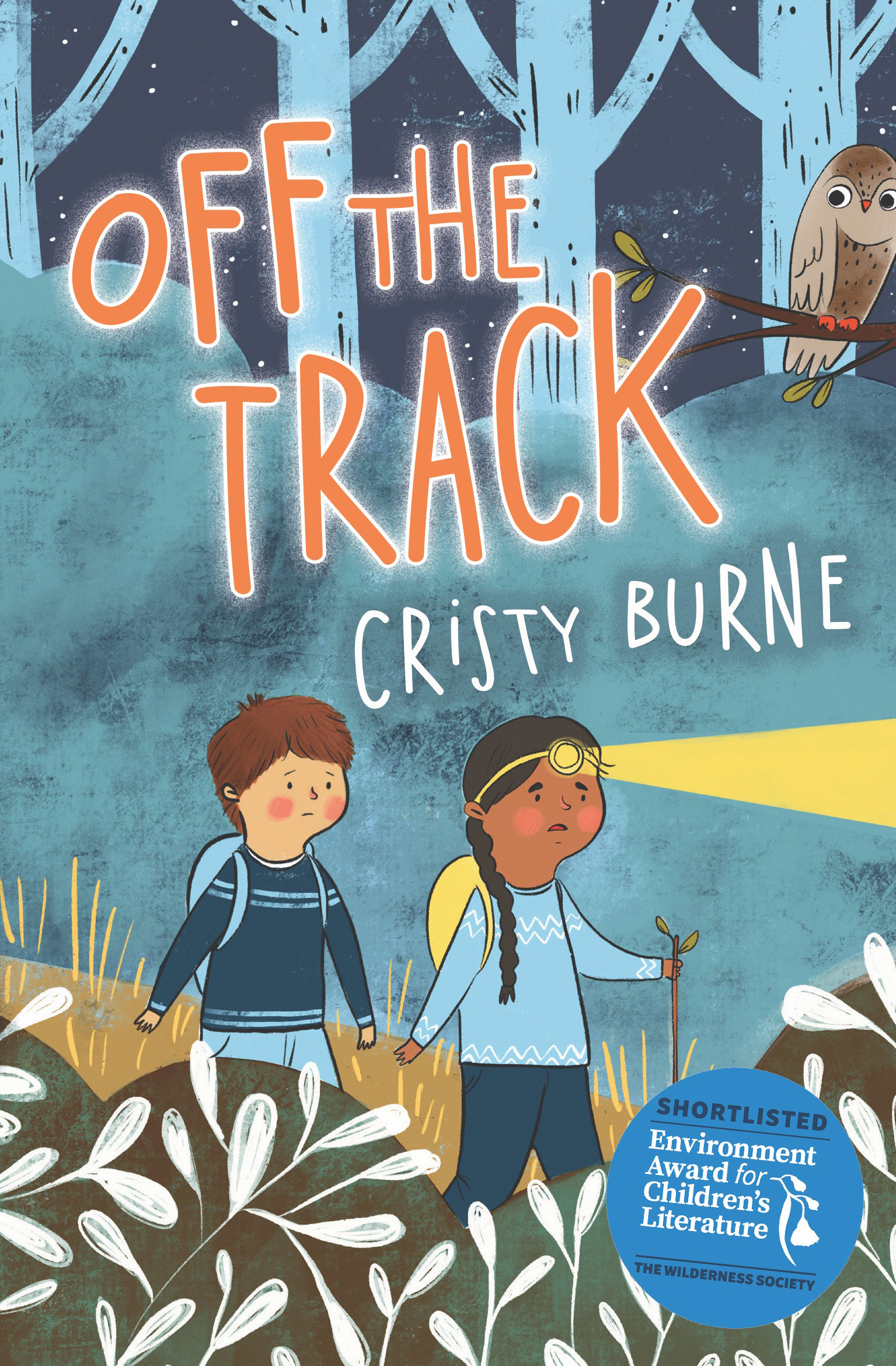Author Cristy Burne talks about her latest book: Off the Track