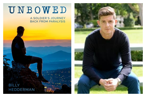 Author and Army Ranger Billy Hedderman's journey back from paralysis