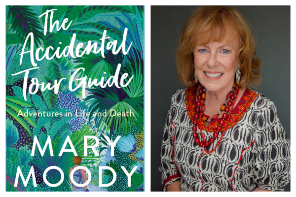 Author and accidental tour guide, Mary Moody