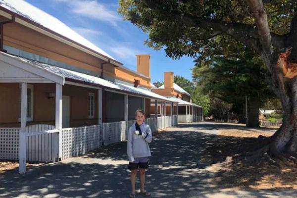 Perth boy hit by 'huge' branch on Rottnest Island