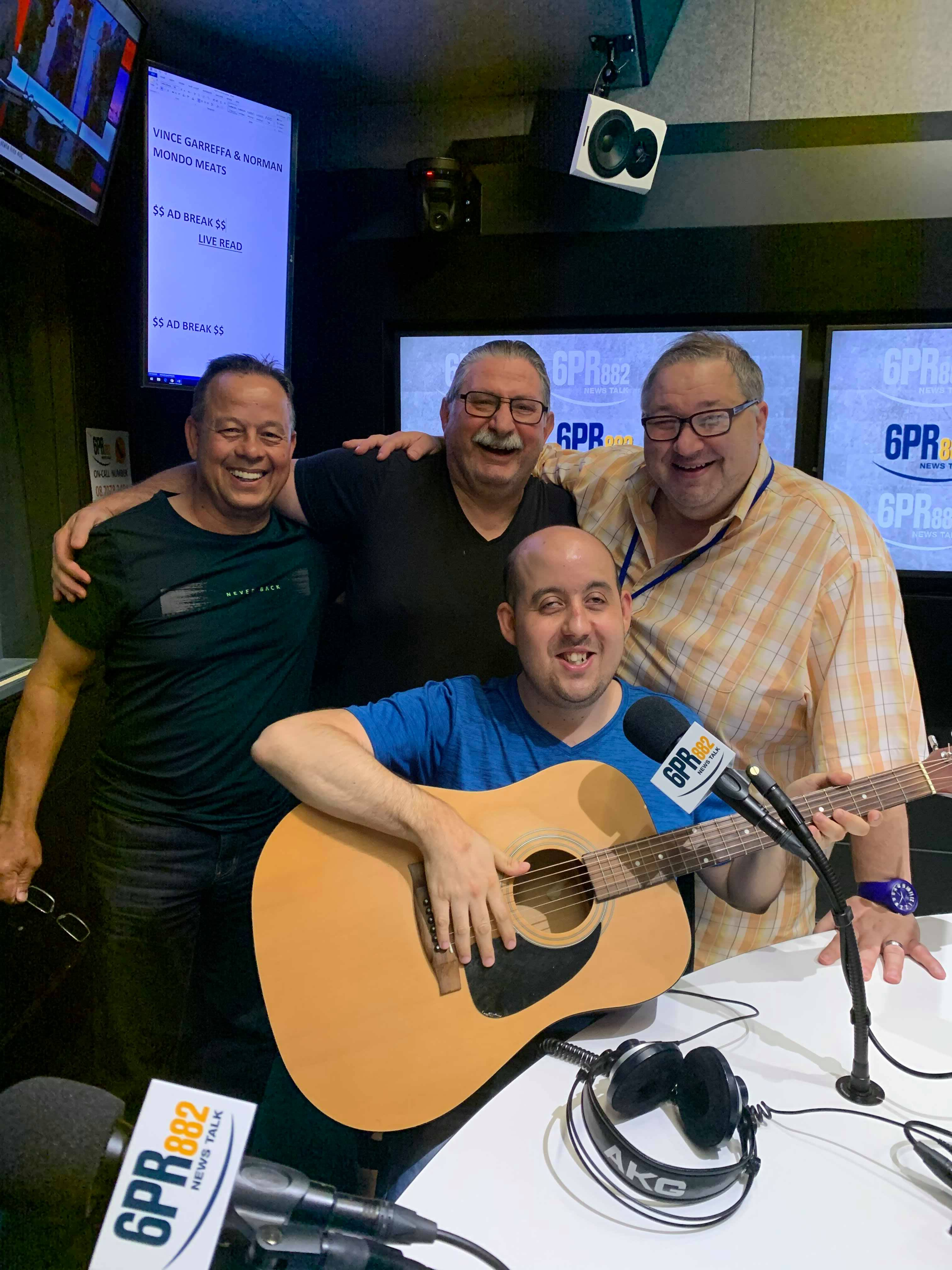 Long time listener joins Fred and Vince Garreffa.