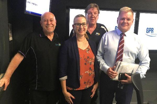 Thursday Panel with Jamie Mercanti, Professor Gary Martin, and Michelle Maynard