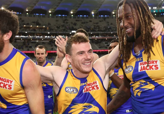 Luke Shuey talks about his role as captain of the Eagles