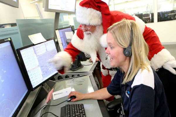 Kids … Santa is gearing up ready to go!