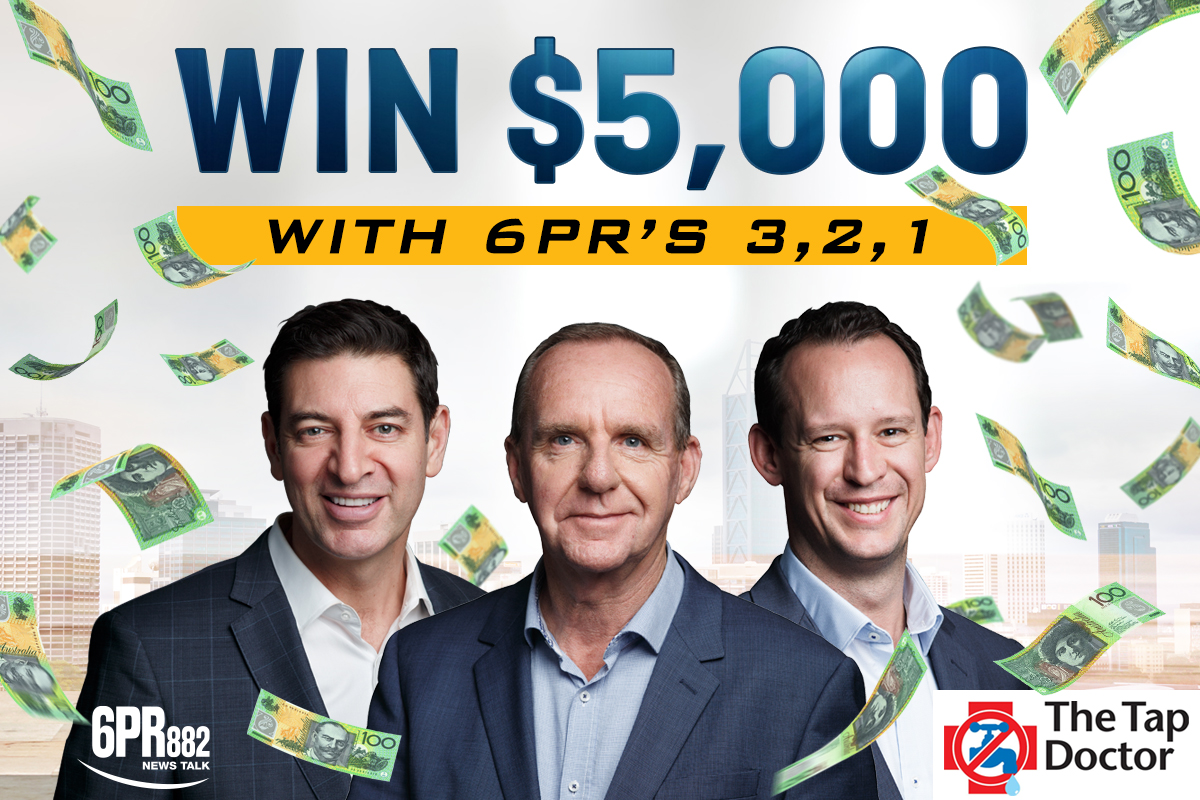 Win $5,000 with 6PR's 3 -2 – 1