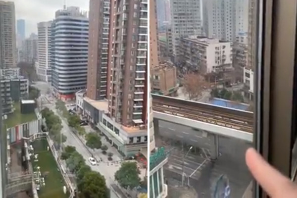 """Aussie trapped in Wuhan: """"this is definitely not the trip I had imagined"""""""