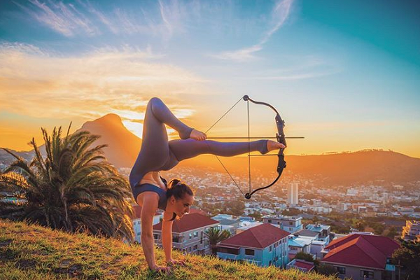 Desperate search for stolen Fringe World performer's archery equipment