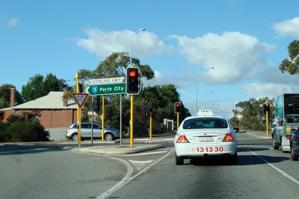 Work begins on High St upgrade – with a roundabout at Stirling Hwy