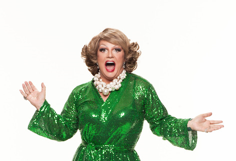Comedian Dolly Diamond talks Fringe Show.